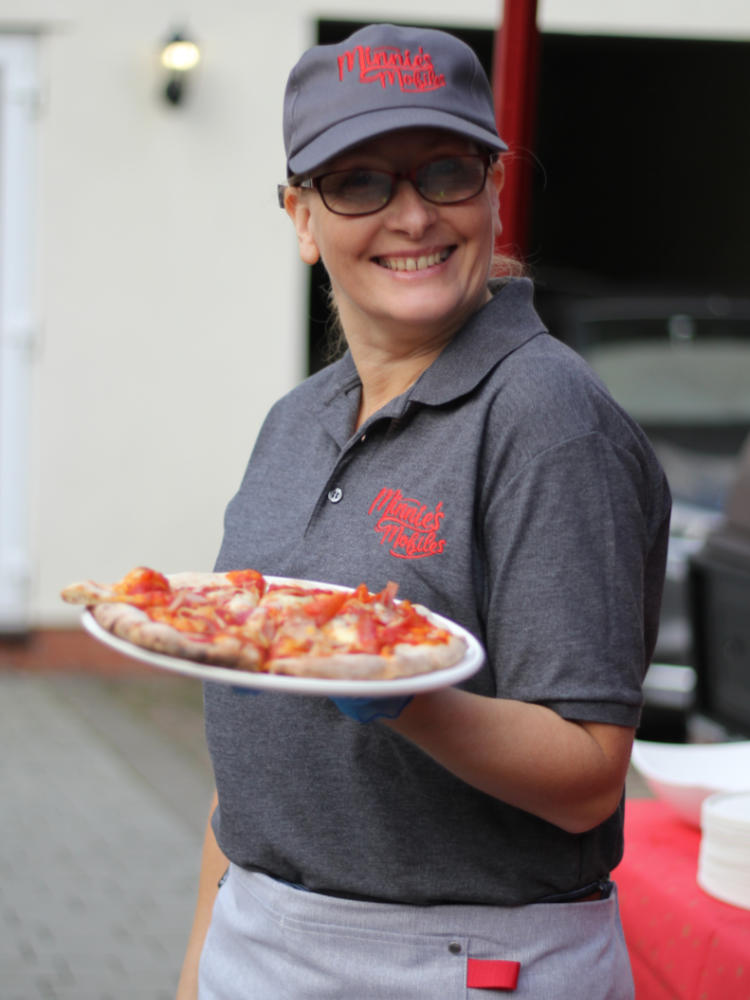 Mobile Pizza for birthdays weddings events